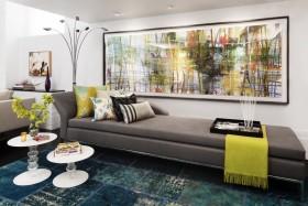 客厅装修效果图 简约客厅沙发背景墙装修效果图