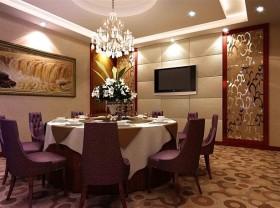 餐厅装修效果图 中式餐厅装修效果图