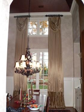 餐厅窗帘装饰效果图