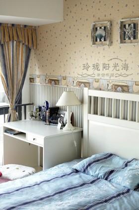 地中海风格卧室装修-非空设计