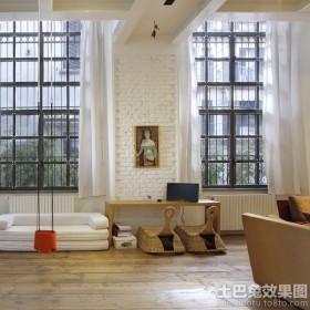 公寓开放式书房装修效果图片