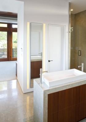 二室一厅的装修图片 洗手间洗手台装修效果图