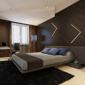 卧室背景墙装修图片 背景墙装修设计