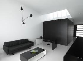 70平米现代简约客厅装修效果图