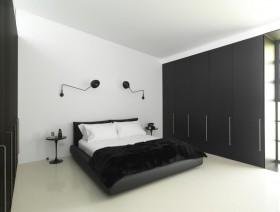 70平米现代简约卧室装修效果图