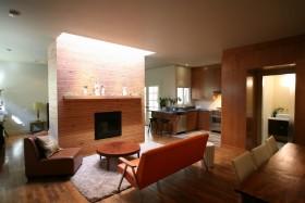 80平米小户型美式现代客厅装修效果图