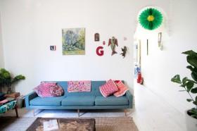 40平米小户型装修效果图 简约客厅装修