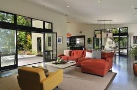 农村别墅客厅装修效果图 现代风格装修