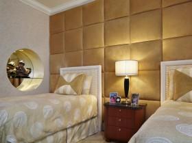 现代风格女生卧室装修效果图