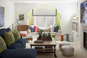 温馨的简约客厅装修效果图欣赏