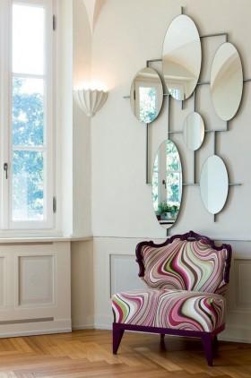 简约客厅沙发背景墙装饰效果图