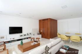 简约风格单身公寓装修效果图