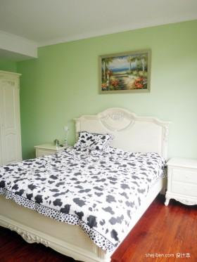 田园风格小户型卧室装修-.北桥城室内设计