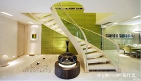 现代风格复式楼梯装修效果图-朱洪虹