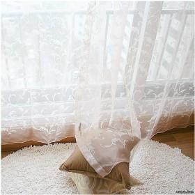 阳台飘窗窗帘效果图