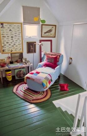 阁楼小孩房间布置图片