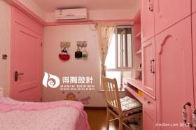 粉色系儿童卧室装修效果图