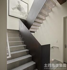 现代别墅钢结构楼梯图集