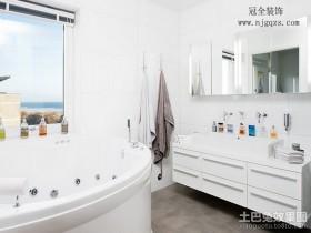 60平米小户型卫浴间装修效果图
