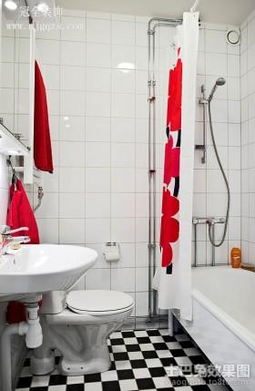 50平米小户型装修简约卫生间