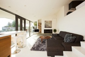 别墅简约装修风格 舒适客厅家装效果图
