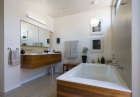 90平米小户型装修效果图 卫生间浴缸装修效果图欣赏