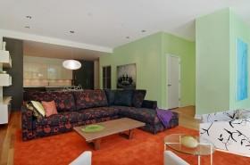 现代混搭风格客厅沙发装修效果图欣赏