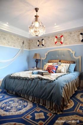 卧室装修效果图大全2012图片 欧式地中海卧室装修设计方案
