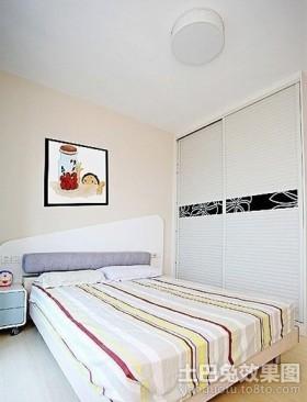 田园风格卧室装修效果图片