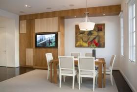 简约家居餐厅电视柜装修效果图