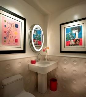 卫生间背景墙装修效果图大全