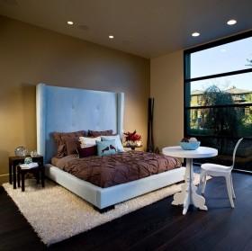 卧室床头背景墙装修效果图大全