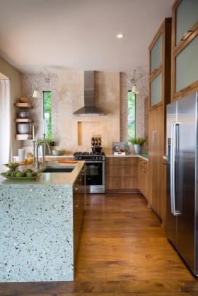 小户型厨房装修效果图 60平米小户型装修