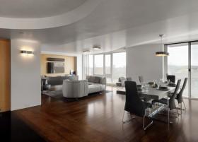 160平米装修效果图 客厅餐厅装修效果图