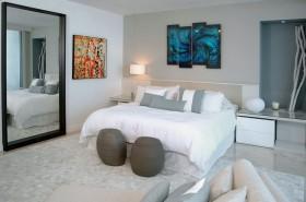 三室两厅简约卧室装饰效果图