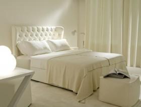 白色简约卧室装修效果图大全