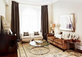 80平米小户型客厅布艺沙发
