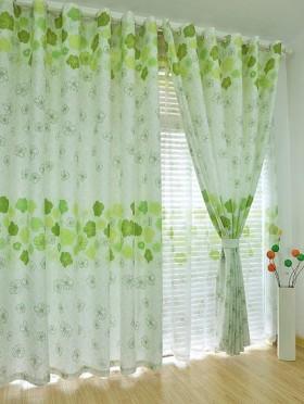 韩式客厅窗帘效果图欣赏