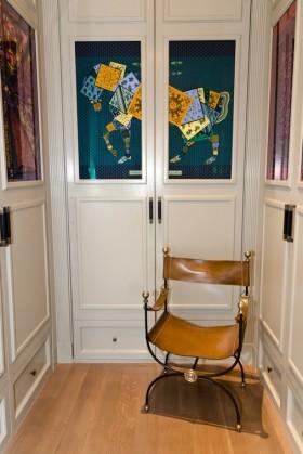 现代风格进门玄关装修效果图 玄关装修效果图