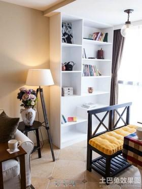 简美式客厅书架设计图