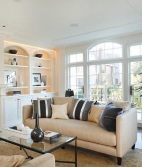 客厅沙发装修效果图大全 简欧