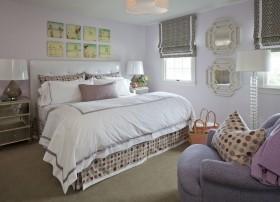 两室两厅卧室装修效果图大全