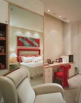 卧室梳妆台装修效果图大全2012图片