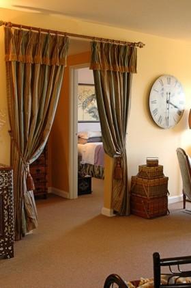 欧式风格窗帘欧式客厅窗帘效果图