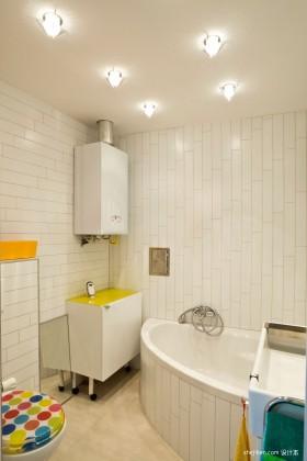 70平米小户型装修样板间卫生间效果图