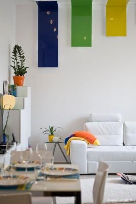 70平米小户型装修效果图 现代风格客厅装修效果图