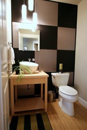 卫生间魔方瓷砖装修效果图