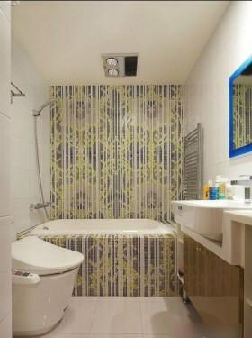 卫浴间壁纸装修效果图大全