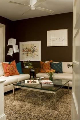 两房一厅沙发图片 客厅沙发背景墙装修效果图