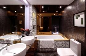 整体卫生间瓷砖装修设计效果图欣赏